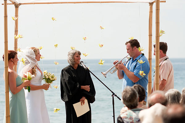 wedding ceremony in california