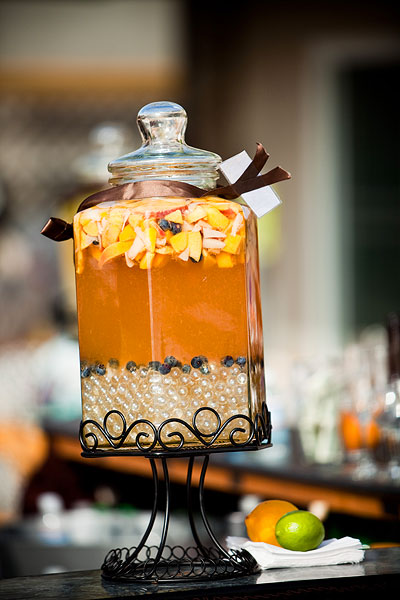 wedding drink dispenser