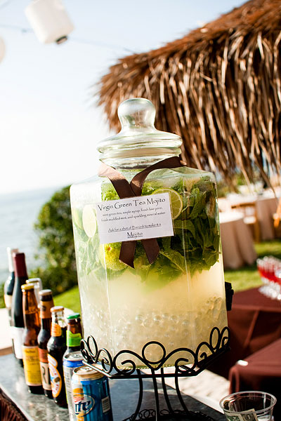 wedding drink dispenser