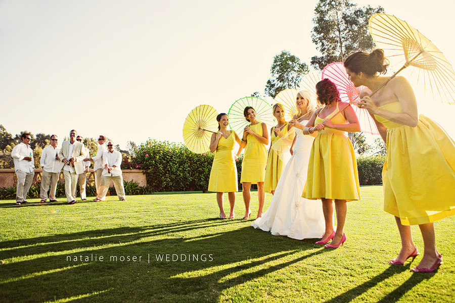 parasols for outdoor wedding