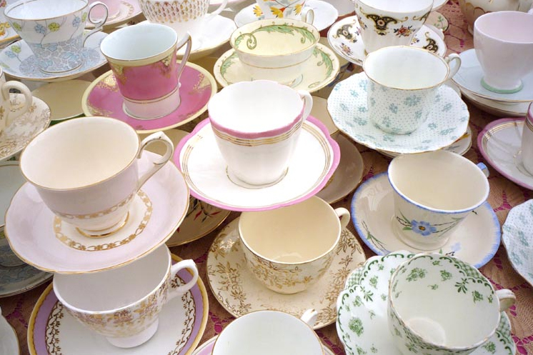 Vintage crockeryVintage Wedding Ideas  Second hand Dishes and Tableware. Tableware For Weddings. Home Design Ideas