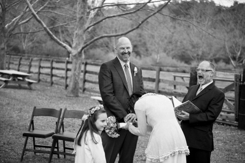winery wedding ceremony