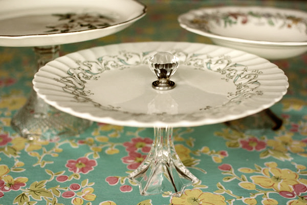 & Vintage Cake Stands: Make Your Own!