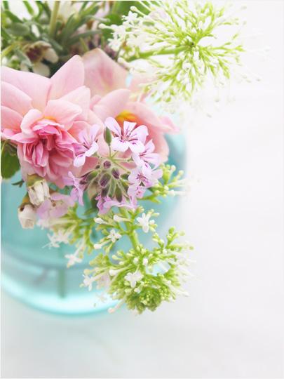 Intimate Weddings & Vintage Bottles as Flower Vases | Intimate Weddings - Small Wedding ...