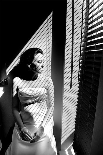 film noir wedding photography