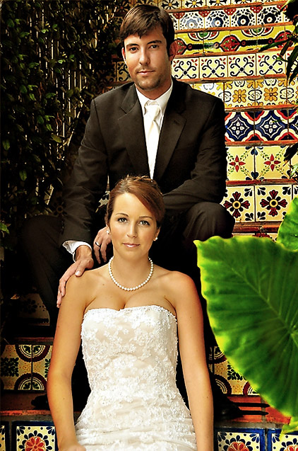 florida wedding at boutique hotel