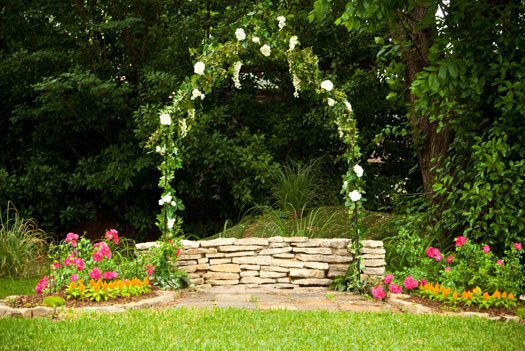 fort worth wedding venue outdoors