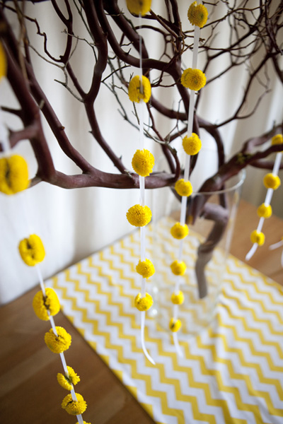 yellow-flower-garland givers log