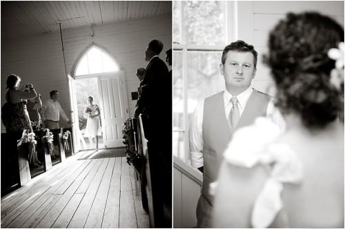 wedding ceremony in texas chapel