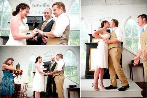 small texas wedding