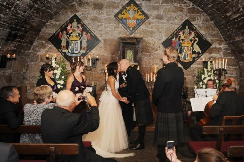 castle wedding scotland