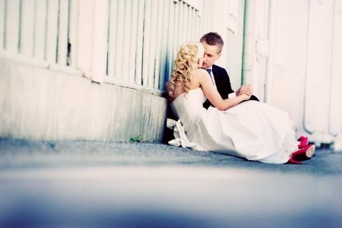 intimate wedding in sweden