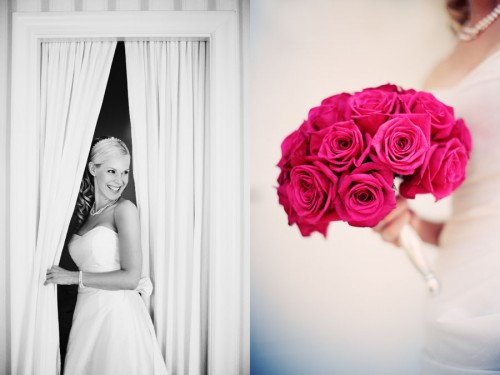 roses bouquet for wedding