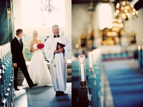 wedding ceremony in sweden