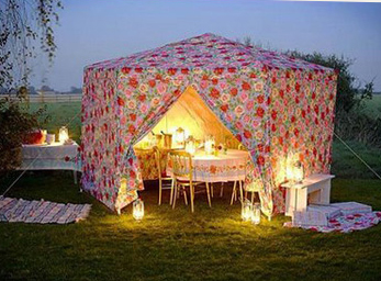 camping glam