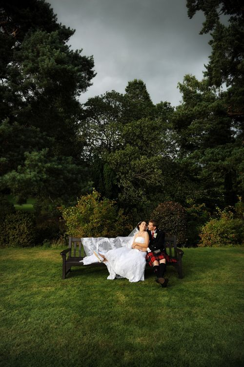 outdoor wedding in scotland