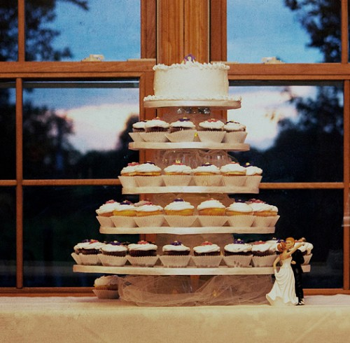 wedding cupcake tree