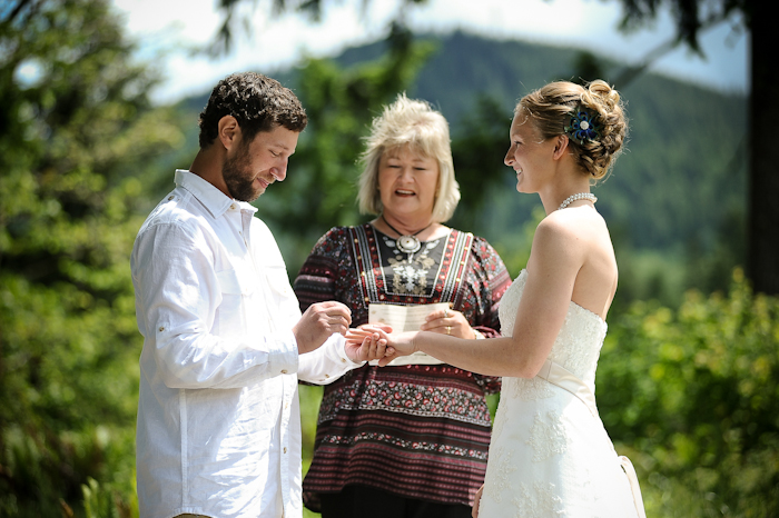 an intimate outdoor wedding in wa