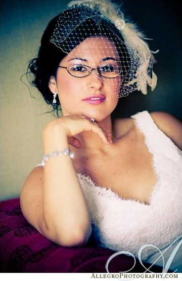 bride glasses