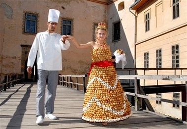 edible dress