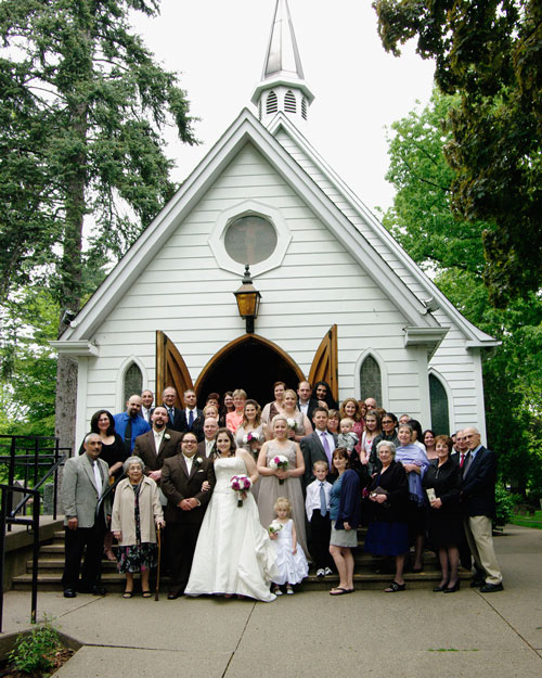 small wedding church