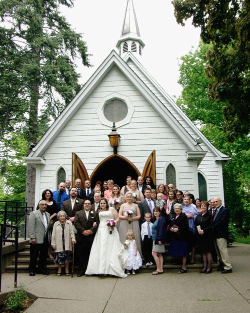 Small Wedding Church