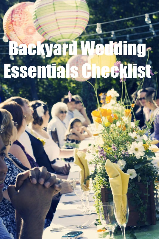 The Backyard Wedding At Home Weddings Are Beautiful But Not Easy
