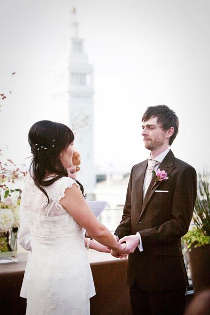 outdoor wedding in san francisco