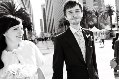 small wedding in ca