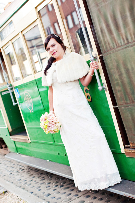 trolley bride