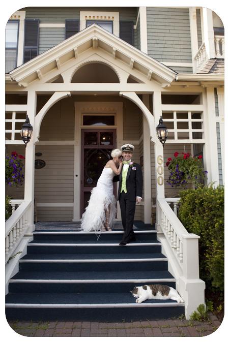 wedding couple blomindon inn