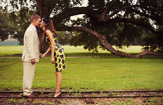 Real Weddings: Erika & Christopher\'s Intimate New Orleans Wedding ...