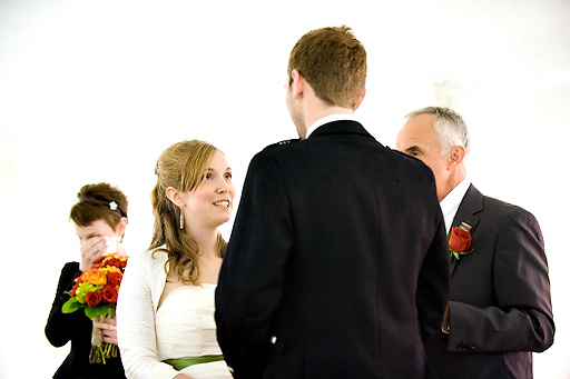 wedding ceremony in nova scotia