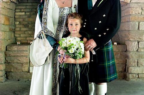 celtic flower girl