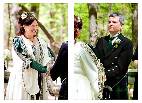 celtic themed wedding ceremony