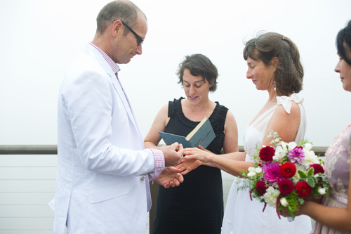 California elopement ceremony