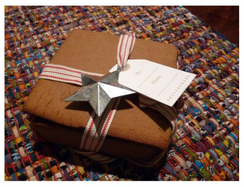 Gingerbread Gift Box Wedding Favor