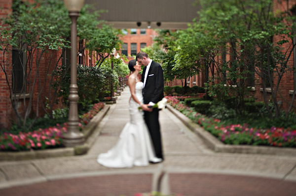 Detroit Hotel wedding