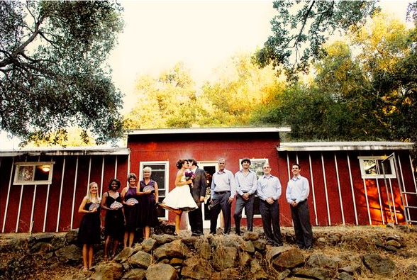 California Wedding Venue The DIY Wedding Weekend At