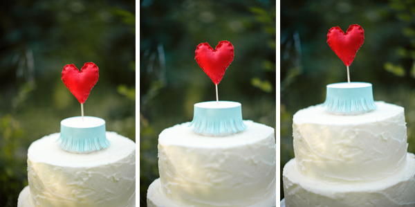 sweet heart wedding details for a February wedding inspiration