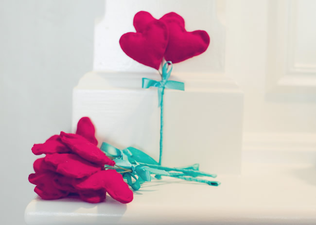 DIY heart boutonniere sweet wedding details