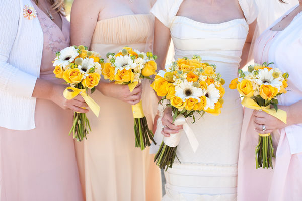 mismatched bridesmaid dresses phoenix arizona wedding