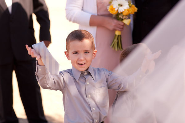 little boy ring bearer phoenix intimate wedding