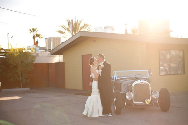 intimate small outdoor phoenix arizona wedding