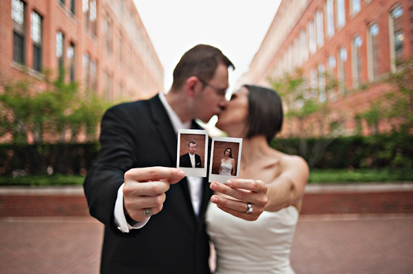 polaroid wedding photography ideas detroit intimate hotel wedding
