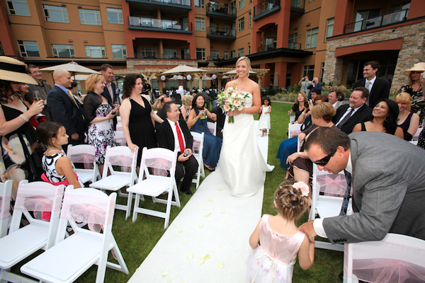 canada intimate wedding watermark beach resort