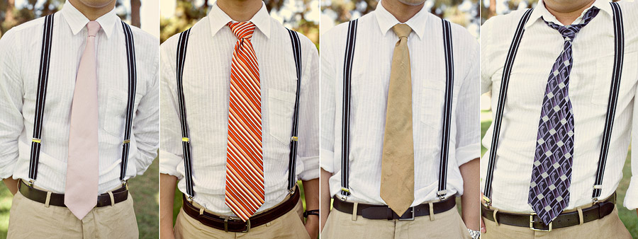 Suits with Suspenders and Bow Ties