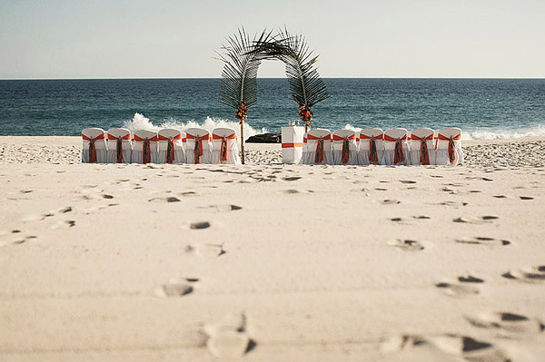 cabo mexico beach wedding ceremony