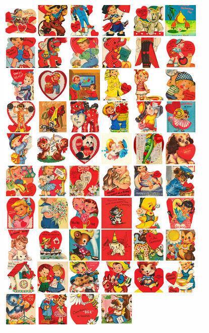 Vintage Valentines Printable And Adorable