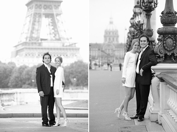 real wedding in paris